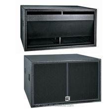 """Live Sound Dual+18"""" subwoofer speaker box+speakers subwoofer"""