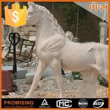Pfm caliente venta de talla de piedra colección estatuas del caballo