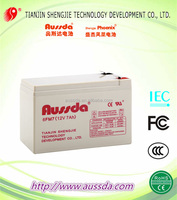 Light use battery with lead acid stprage battery