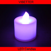 wax flameless moving wick led candle , moving flame led flameless candle