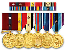 Various of Metal Military Award Medal