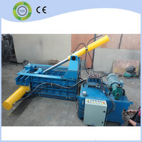 Automatic Horizontal light metal scrap baling press baler machine