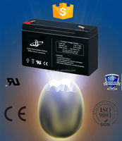 6v 7ah rechargeable lead acid battery, AGM /SMF/ VRLA /SLA/lead acid battery 6V 7AH