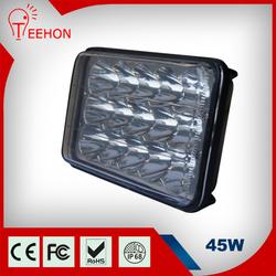 45W High Power LED Work Light Lamp Off Road Bike Motorcycle Fog Headlights