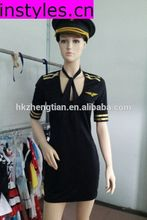 Instyles Walson New Sexy Stewardess Flight Attendant Costume Outfit Uniform Pilot