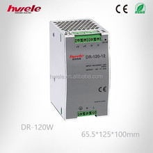 DR-120W din-rail power supply with CE ROHS KC PSE TUV CCC certification