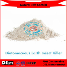 DElite Organic 300G/Bottle Diatomaceous Earth(D.E.) Powder Pesticides, Mites, Ants, Slugs,Bugs Killer