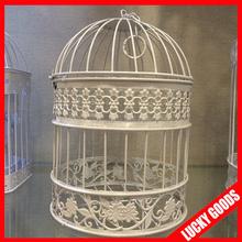 decoration bulk fancy round bird cage for sale