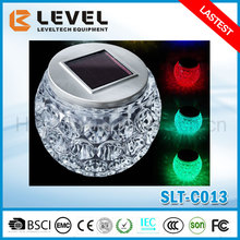 Latest Popular Warm/cold White/Color Glass+Stainless Steel Home Decor LED Light
