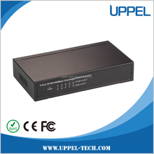 Made in China Supplier Industrial 5 Port 10/100/1000Mbps Unmanaged POE Ethernet Switch 51V