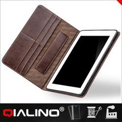 2015 Top quality genuine tablet leather case for ipad air 2 case for ipad