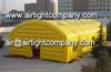 yellow or customised sizdouble layer inflatable tent strong inflatable warehouse marquee tent