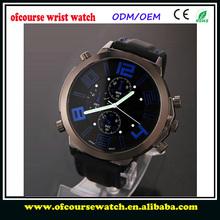 cheap Men Military Watch Strap Sport Analog Wristwatch big dial Climbing Quartz watch