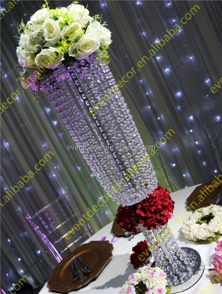 Wedding decoration crystal centerpieces wholesale table for Cheap wedding decorations for tables
