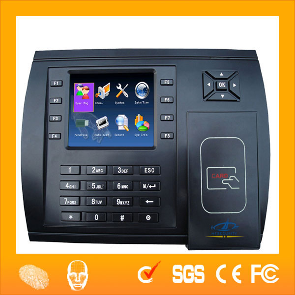 HF-S600カラー画面のGUIクライアントレコードカードテンプレート