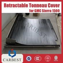 in alluminio di alta qualità nero retrattile tonneau cover per il ritiro GMC Sierra 1500