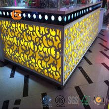 2015 Fantastic MDF Decorative Wall Grille Panels Laser Cutting Board For Japan and European marketing