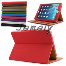 For ipad Air ipad5 Stand Suede Bag Smart Magnetic Leather Case Cover With Sleep & Wake
