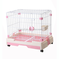 Cat cage for sale cheap/pet dog cat house kennel/rabbit cat carrier with wheels