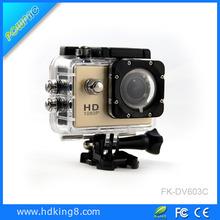 Full HD 1080P waterproof digital video action camera 170 Degree lens outdoor sj4000 sport camera