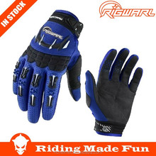 RIGWARL High Quality Motorcycle & Auto Racing Blue Street Sports Gloves With OEM Serice