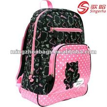 2012 Hot Cute Cat School Bags For Teenagers