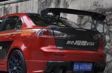 Carbon fiber racing spoiler for Lancer EX