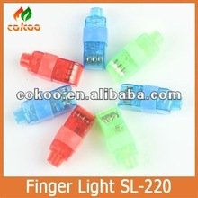 2012 The Most Popular White Led Finger Light,Led Flashlight