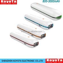 Outdoor Living Compact Portable 2600 mAh Power Bank Charger Adpater