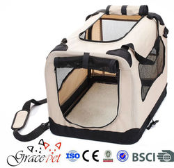 Carrying fabric soft dog cage wholesale