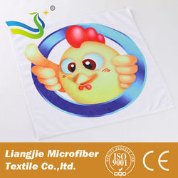 microfiber golf towel/printed microfiber towel