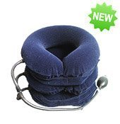 3 Layers Air Neck Traction Fixer Release Headache Neck Shoulder Pain Massager