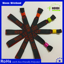 Christmas gifts 2015 brand fabric woven festival bracelet for event and party giveaways