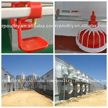 steel structure poultry house with full equipments