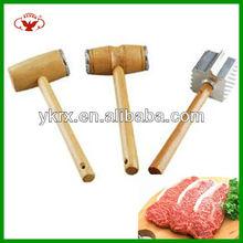 wooden kitchen steak hammer with popular sales