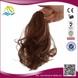 Five Star Quality Synthetic Fiber clip in hair extension