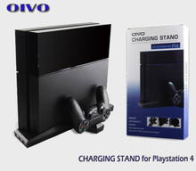 Black Unique Appearance Design Space Ship Console Controllers Charging Station Stand Fit for PS4