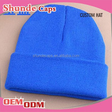 Wholesale High Quality Fancy Man Hats Custom Knit Beanie Hat