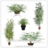 Buluh plant flowers artificial bamboo pot leaves artificial plastic bonsai bamboo plants bonsai