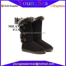 yüksek kalite sıcak satış İtalyan kışlık botlar kadın