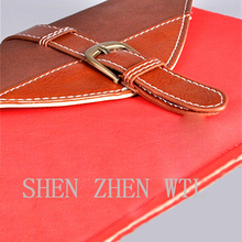 2015 hot leather wallet case for ipad 2 3 4