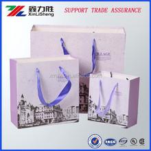 Hot sale custom printed paper shopping bag