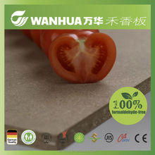 moisture proof eco green MDFstrawboard manufacutuer for wardrobe/kitchen cabinet/kids furniture making