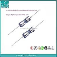 European 3.6x10mm 250V slow blow glass fuse solder in fuse