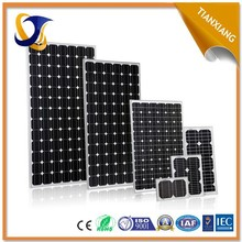 2015 high quality best price per watt 12v 100w solar panel price