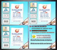 china anatase titanium dioxide A100/titanium dioxide anatase manufacturer