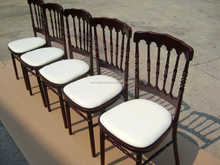 Wooden hotel napoleon chair / Napoleon Chair for wedding