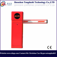 Automatic Barrier Gates Car Parking Barrier With 6 Meters Boom