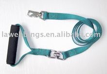 heavy duty retractable soft handle dog lead for running