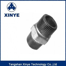 BS galvanized malleable cast iron pipe fittings,nipple